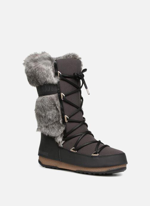 Chaussures de sport Moon Boot Monaco Te Wp Noir vue détail/paire