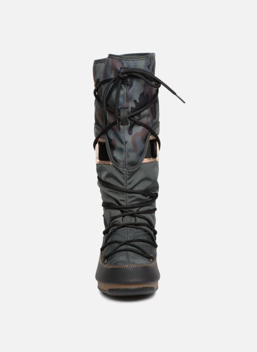 Chaussures de sport Moon Boot anversa camu Vert vue portées chaussures