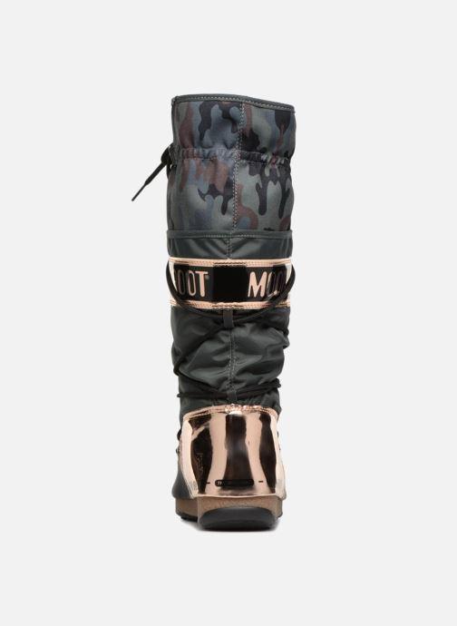 Chaussures de sport Moon Boot anversa camu Vert vue droite