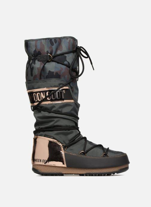 Chaussures de sport Moon Boot anversa camu Vert vue derrière