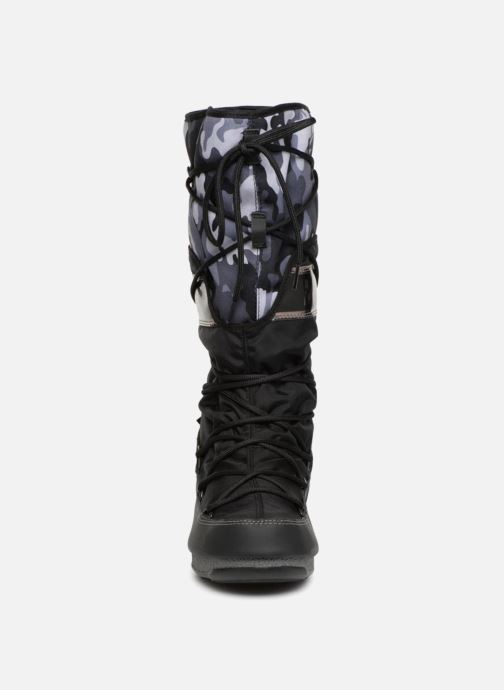 Chaussures de sport Moon Boot anversa camu Noir vue portées chaussures