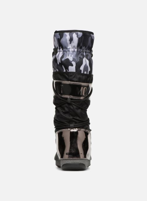 Sport shoes Moon Boot anversa camu Black view from the right