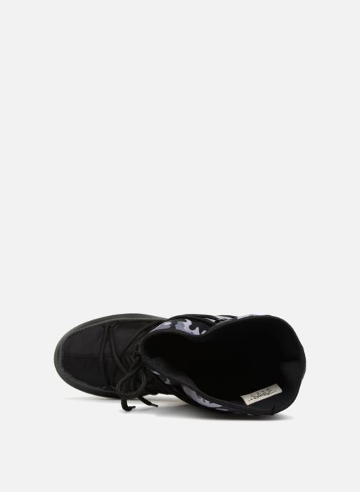 Sport shoes Moon Boot anversa camu Black view from the left