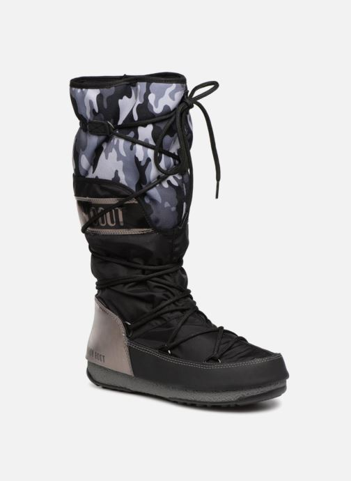 Sport shoes Moon Boot anversa camu Black detailed view/ Pair view