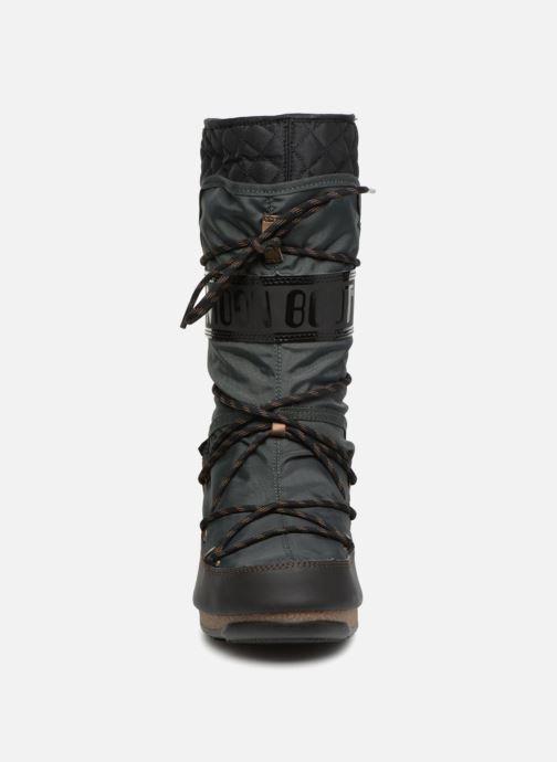 Sportschuhe Moon Boot monaco flip schwarz schuhe getragen