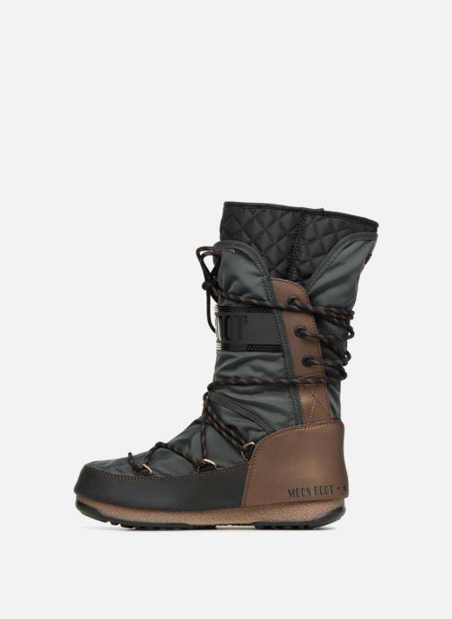 Sport shoes Moon Boot monaco flip Black front view