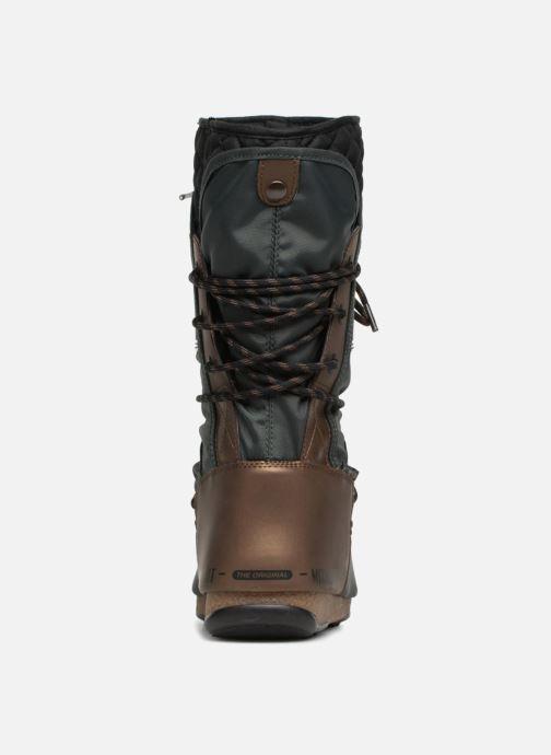 Zapatillas de deporte Moon Boot monaco flip Negro vista lateral derecha