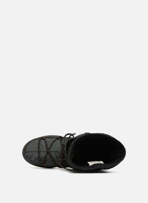 Sportschuhe Moon Boot monaco flip schwarz ansicht von links
