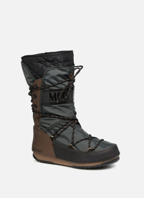 Sport shoes Moon Boot monaco flip Black detailed view/ Pair view