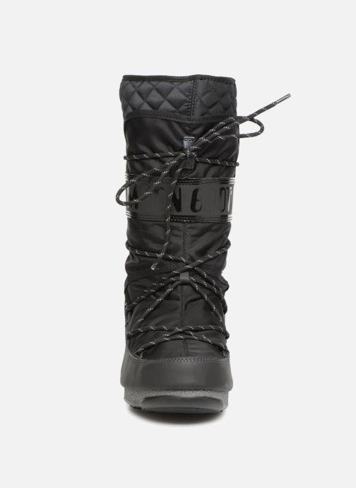 Chaussures de sport Moon Boot monaco flip Noir vue portées chaussures