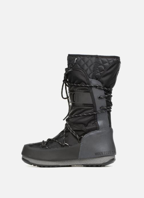 Sportschoenen Moon Boot monaco flip Zwart voorkant