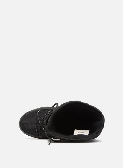 Zapatillas de deporte Moon Boot monaco flip Negro vista lateral izquierda