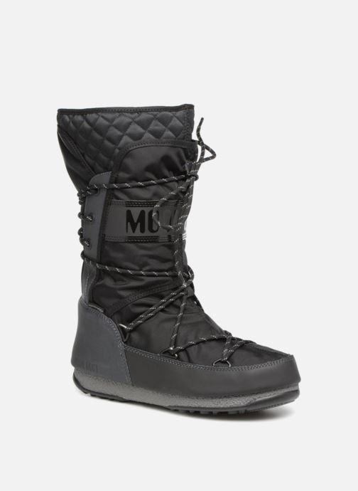 Chaussures de sport Moon Boot monaco flip Noir vue détail/paire