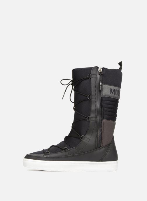 Chaussures de sport Moon Boot Vega Hi TF Noir vue face