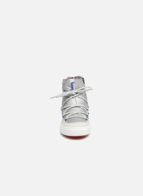 Chaussures de sport Moon Boot Pulse Space Suit Argent vue portées chaussures