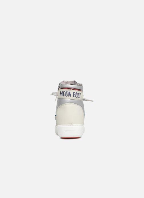 Chaussures de sport Moon Boot Pulse Space Suit Argent vue droite