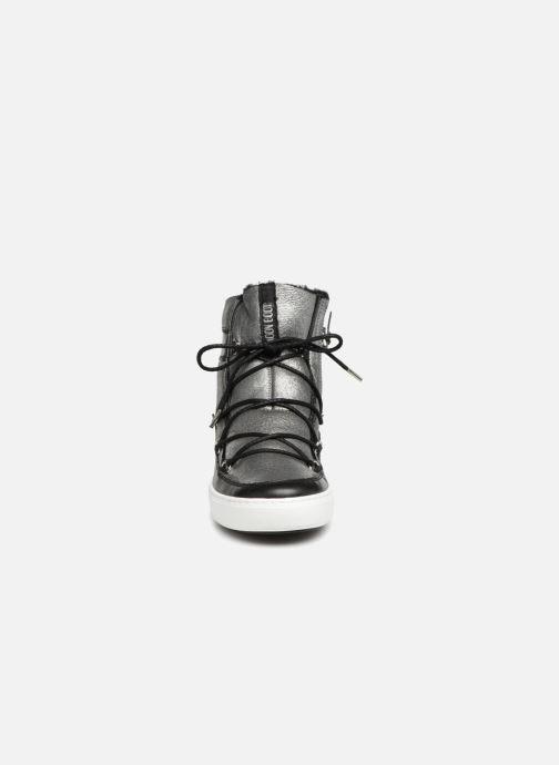 Chaussures de sport Moon Boot Pulse SH Argent vue portées chaussures