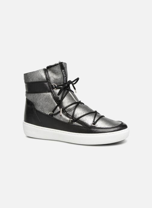 Chaussures de sport Moon Boot Pulse SH Argent vue détail/paire