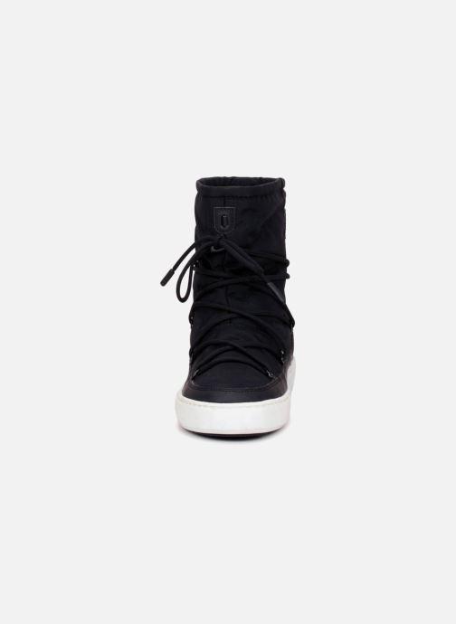 Chaussures de sport Moon Boot Pulse Nylon Plus W Noir vue portées chaussures