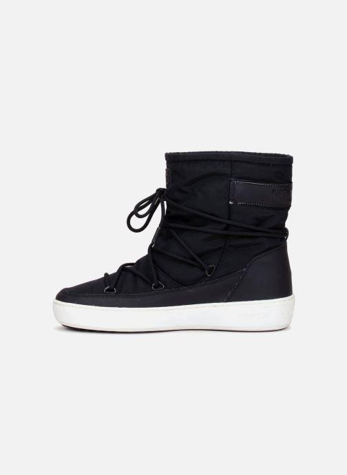 Sport shoes Moon Boot Pulse Nylon Plus W Black front view