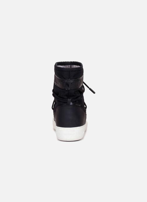 Chaussures de sport Moon Boot Pulse Nylon Plus W Noir vue droite