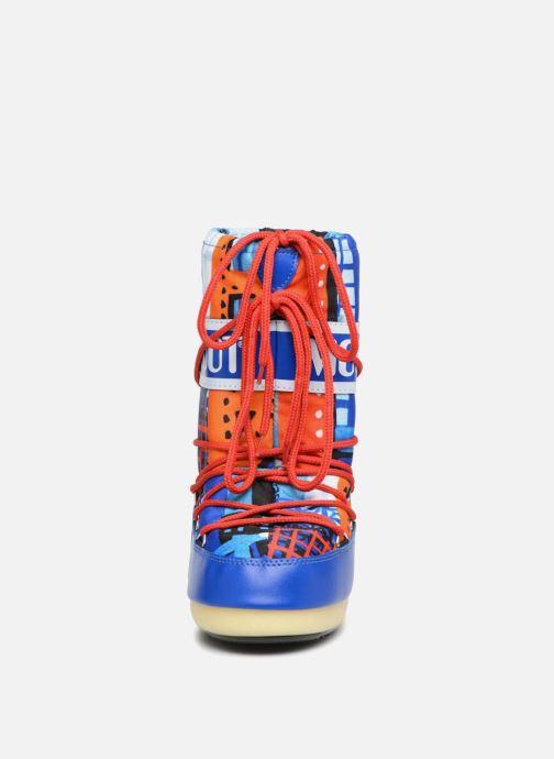 Chaussures de sport Moon Boot JR Industrial Bleu vue portées chaussures