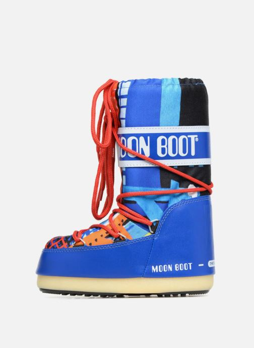 Chaussures de sport Moon Boot JR Industrial Bleu vue face