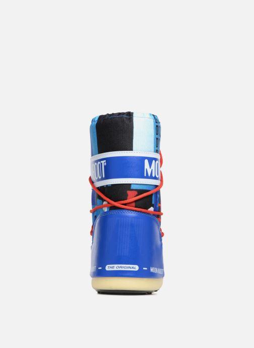 Zapatillas de deporte Moon Boot JR Industrial Azul vista lateral derecha