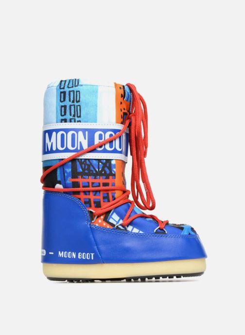 Chaussures de sport Moon Boot JR Industrial Bleu vue derrière
