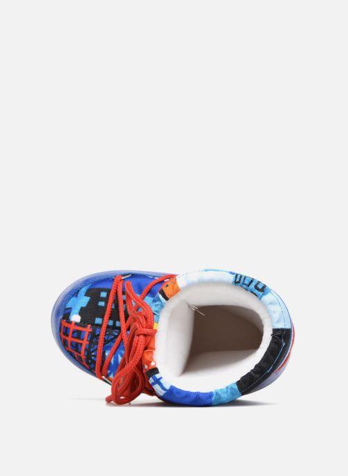 Zapatillas de deporte Moon Boot JR Industrial Azul vista lateral izquierda