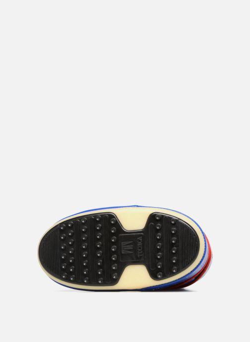 Chaussures de sport Moon Boot JR Industrial Bleu vue haut