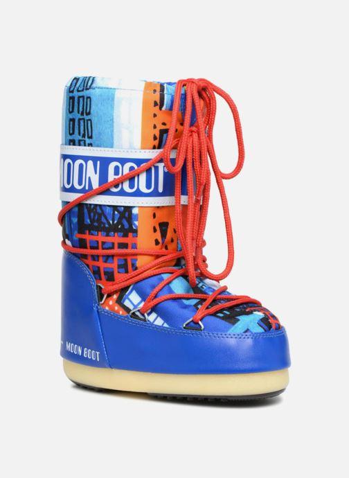 Chaussures de sport Moon Boot JR Industrial Bleu vue détail/paire