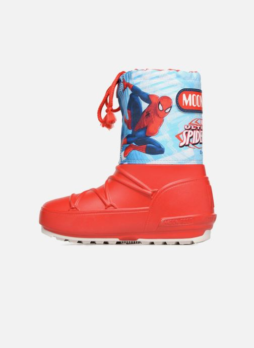 Chaussures de sport Moon Boot Pod JR Spiderman Rouge vue face