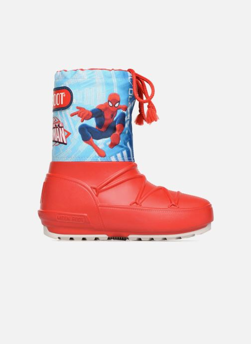 Chaussures de sport Moon Boot Pod JR Spiderman Rouge vue derrière