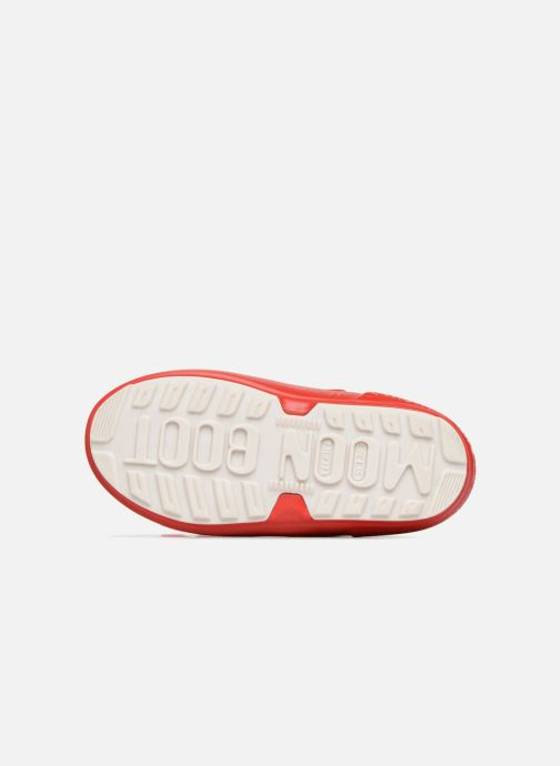 Chaussures de sport Moon Boot Pod JR Spiderman Rouge vue haut