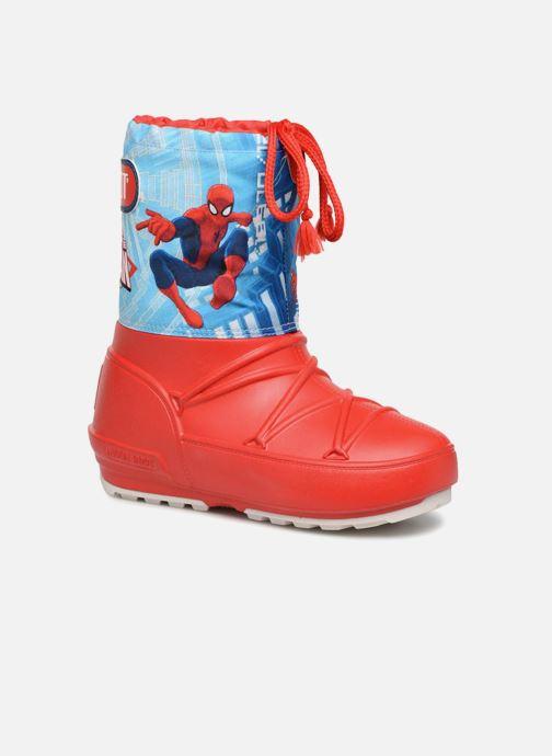 Chaussures de sport Moon Boot Pod JR Spiderman Rouge vue détail/paire