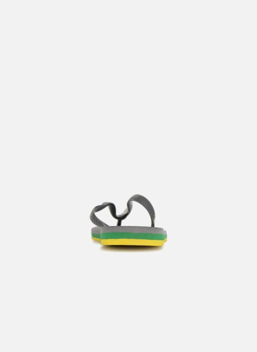 Tongs Havaianas Brasil Layers Gris vue droite
