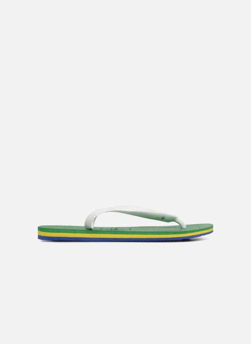 Infradito Havaianas Brasil Layers Verde immagine posteriore