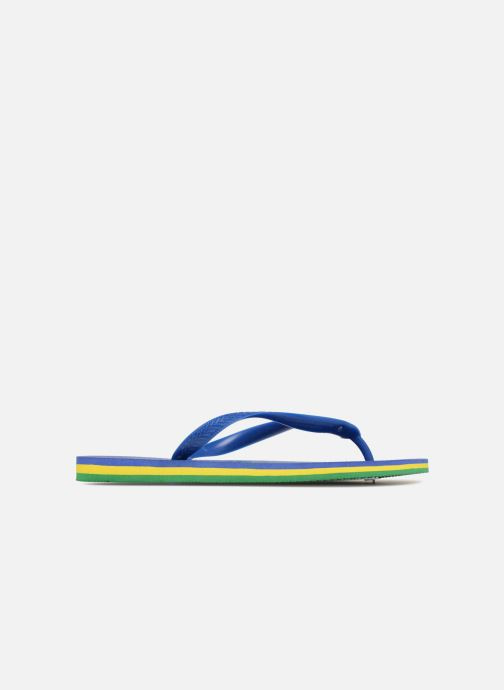 Infradito Havaianas Brasil Layers Azzurro immagine posteriore