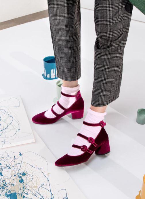 Zapatos de tacón Georgia Rose Edulce Vino vista de abajo
