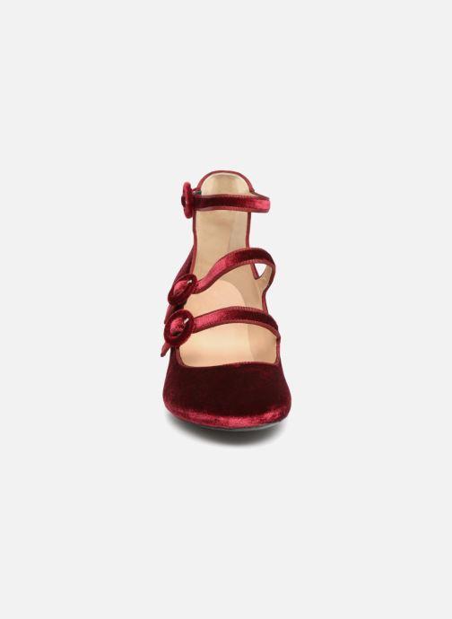 Zapatos de tacón Georgia Rose Edulce Vino vista del modelo