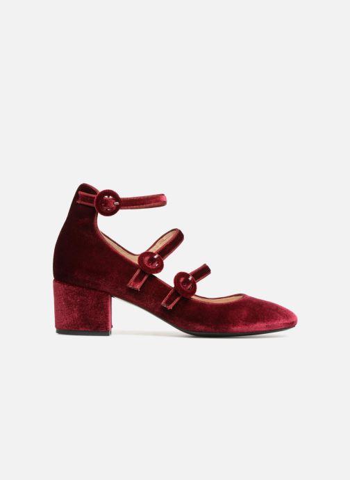 Zapatos de tacón Georgia Rose Edulce Vino vistra trasera