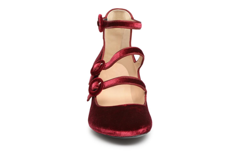 Escarpins Georgia Rose Edulce Bordeaux vue portées chaussures