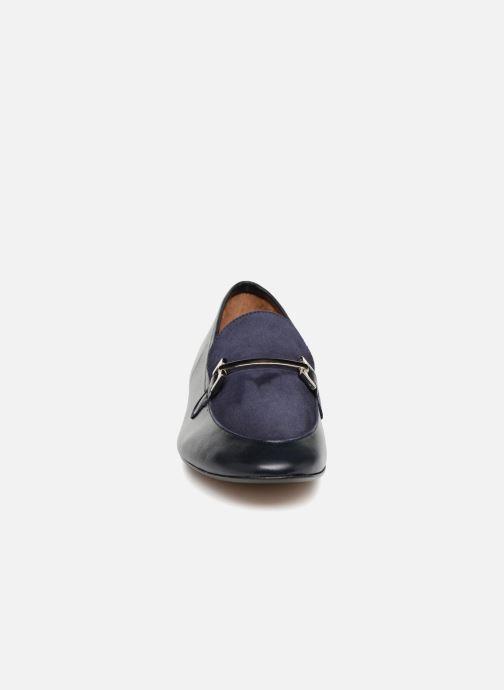 Mocassins Georgia Rose Enola Bleu vue portées chaussures