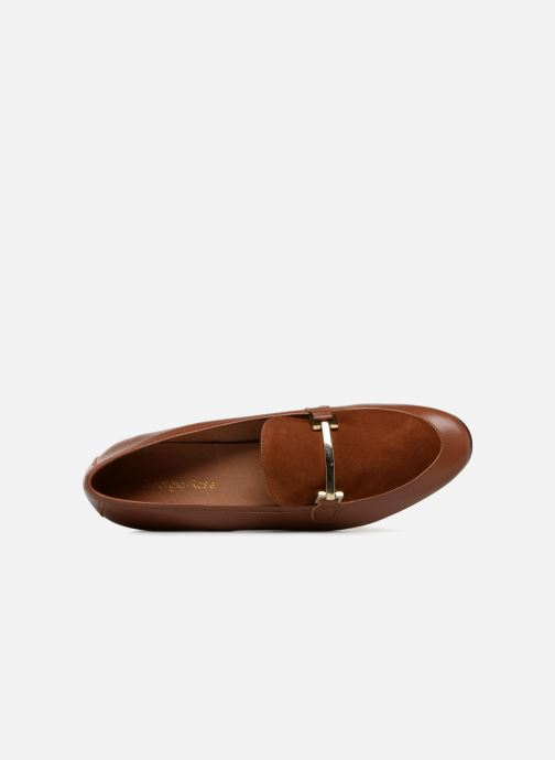 Mocassins Georgia Rose Enola Marron vue gauche