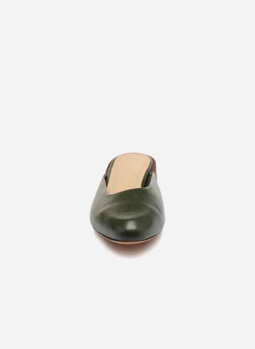 Mules et sabots Mari Giudicelli Leblon Mule Vert vue portées chaussures