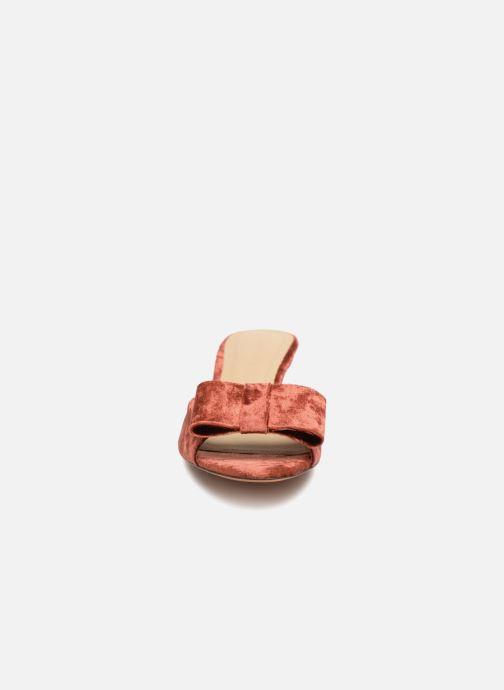 Sandales et nu-pieds Mari Giudicelli Jeanne Sandale Rouge vue portées chaussures