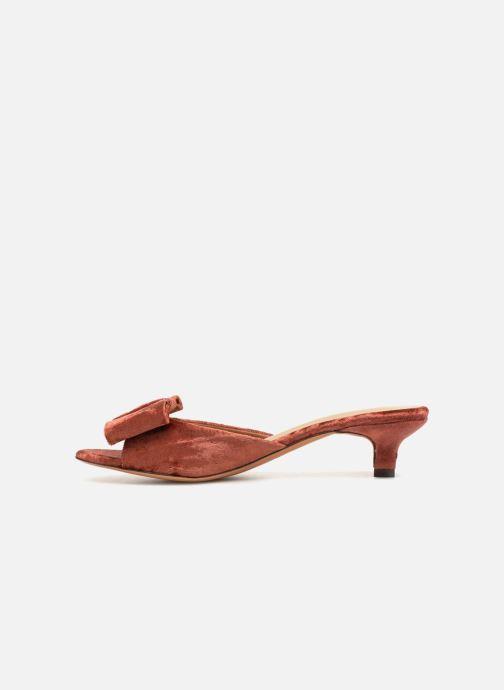 Sandales et nu-pieds Mari Giudicelli Jeanne Sandale Rouge vue face