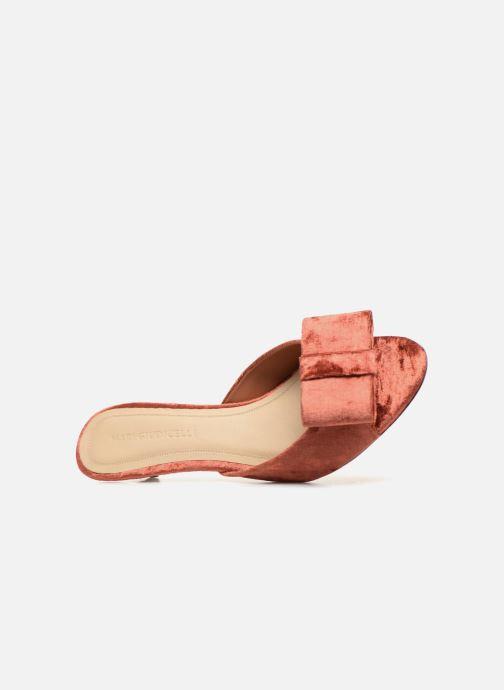 Sandales et nu-pieds Mari Giudicelli Jeanne Sandale Rouge vue gauche