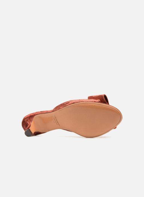 Sandales et nu-pieds Mari Giudicelli Jeanne Sandale Rouge vue haut
